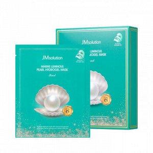 Гидрогелевая маска с экстрактом жемчуга, 30 гр, JMSolution Marine Luminous Pearl Hydrogel Mask