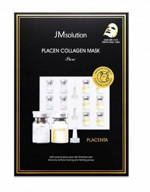 JMsolution Placen Collagen Mask Pure Плацентарная тканевая маска с коллагеном, 30 мл
