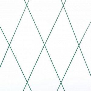 Шпалера, 170 ? 50 ? 1 см, металл, зелёная, «Бабочка»