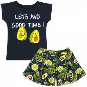 Комплект для девочки Авокадо
