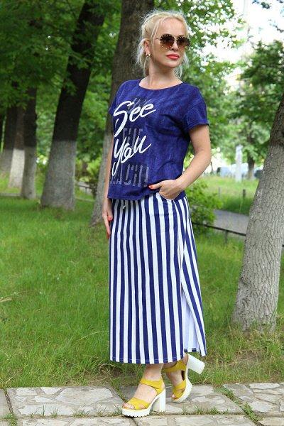Натали. Трикотаж для всей семьи. Домашний текстиль — Костюмы с юбками