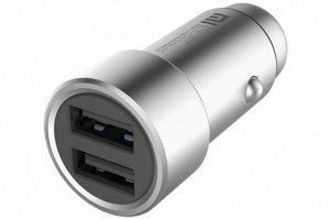Автомобильное зарядное устройство Xiaomi QC 3.0 2 USB, , шт