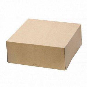 Коробка крафт 25*25*10 см