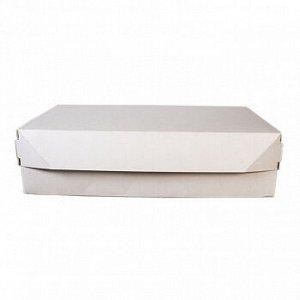 Коробка 23*14*6 с крышкой, 1,9 л белая