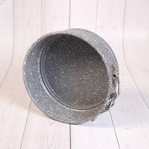 Форма для выпечки со съемным дном КРУГ 12 см, Гранит
