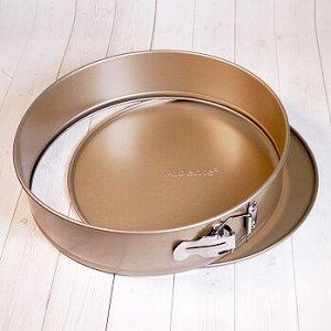 Форма для выпечки со съемным дном Aldente КРУГ 28 см