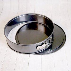 Форма для выпечки со съемным дном КРУГ 25 см