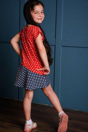 Платье Бренд Натали. Ткань: кулирка  Состав: 100% хлопок Платье с приспущенным плечом, декоративная скошенная юбка платья, бантик Замеры по данным производителя: Длина изделияДлина рукаваОбъем груди