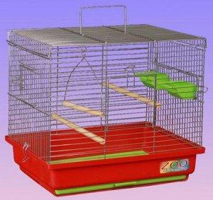 Клетка для птиц Квадро-2 большой поддон 39*29*25см