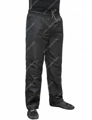 Брюки мужские утепленные тк.Twill Nylon/подклад флис цв.Чёрный