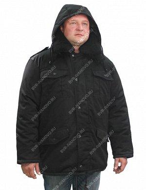 Куртка Зима тк.Смесовая Могилёв цв.Чёрный
