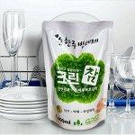 CLEAX Средство д/мытья посуды,овощей и фруктов Зелёный чай 1000 мл, мяг/уп