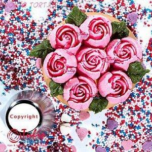 Насадка Роза №111 Рубин размера L