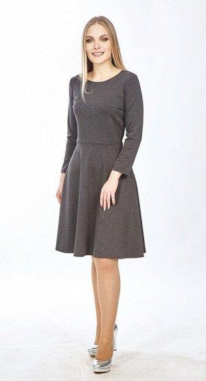 Платье женское  5725/03/Темно-серый