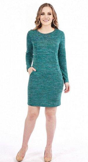 Платье женское  5838/10/Зеленый