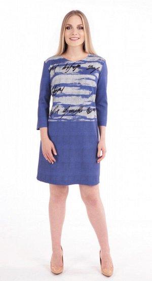 Платье женское  5834/06/Синий, голубой