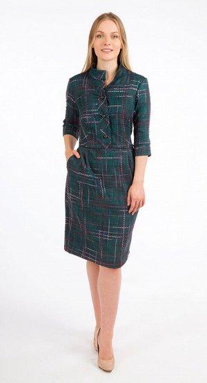 Платье женское  5835/02/Зеленый