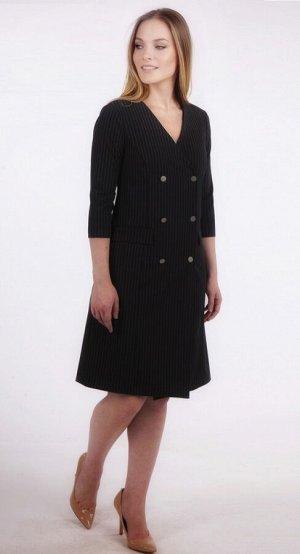 Платье женское  5830/03/Темно-синий