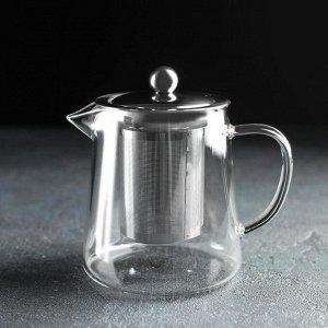 Чайник заварочный «Эгла», 650 мл, дно d=10 см