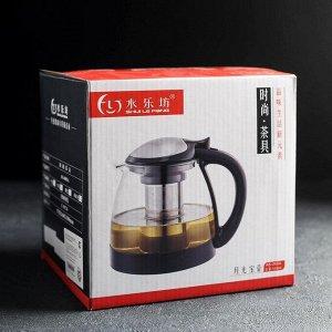 Чайник заварочный «Глянец», 1,5 л, цвет МИКС