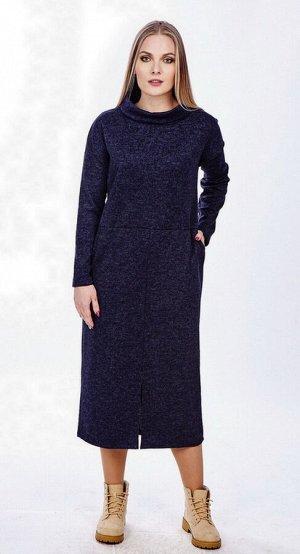 Платье женское  2407/02/Темно-синий
