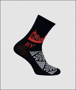 Носки мужские Pro Belarus черный