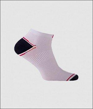Носки мужские белый+красный