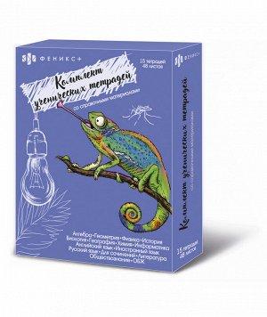 Набор ученических тетрадей тематических, 15 шт. в наборе
