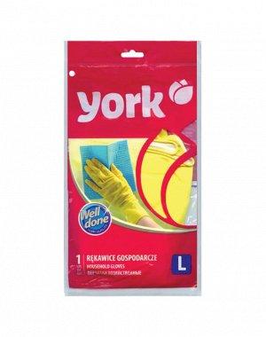 """""""YORK"""" Перчатки хозяйственные, размер L, 092010"""