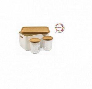 """Набор контейнеров для хранения """"Korely"""" 3шт, АС 69433000"""