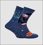 Носки мужские Crazy Sock синий