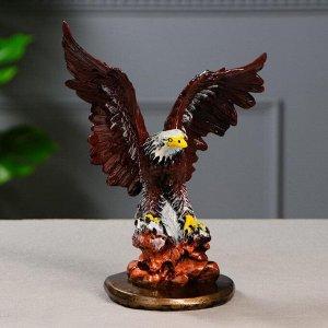"""Статуэтка """"Орел"""" малый, рисованный, 23,5 см, микс"""