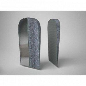 Чехол для хранения шубы «Серебро», 60х160х10 см
