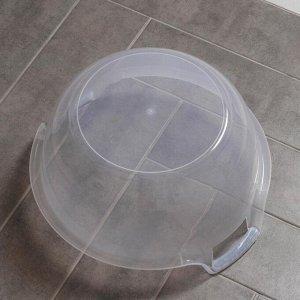 Таз пластиковый «Альфа», 16 л, цвет МИКС