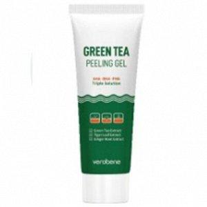 Пилинг гель для умывания с экстрактом зеленого чая