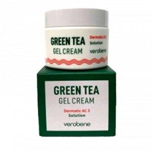 Крем-гель для лица с экстрактом зеленого чая