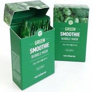 Кислородная маска-смузи коктейлем из экстрактов зелёных овощей и растений 5г