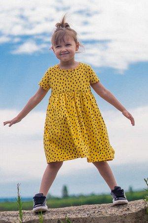 Платье Лето Подсолнух