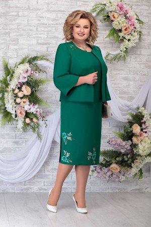 Жакет, платье Ninele Артикул: 2243 изумруд