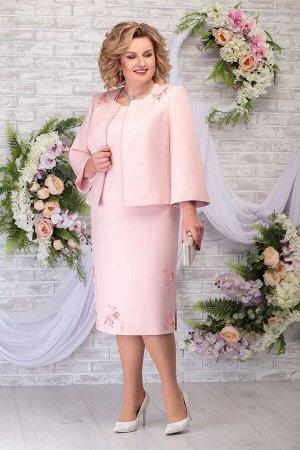 Жакет, платье Ninele Артикул: 2243 пудра
