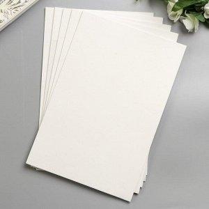 "Фоамиран ""Белый"" 2 мм (набор 5 листов) формат А4"