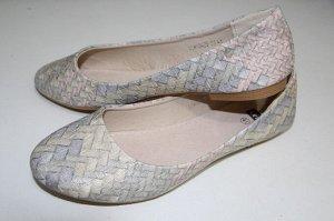 Туфли повседневные с верхом из искусственных кож женские