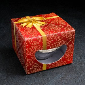 Сахарница «Флора», 250 мл с, напылением, в подарочной упаковке