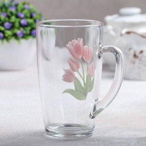 Кружка «Весенние тюльпаны», 400 мл