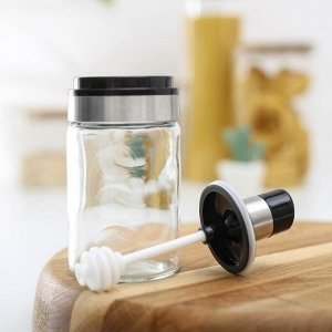 Ёмкость для мёда «Глейд», с ложечкой