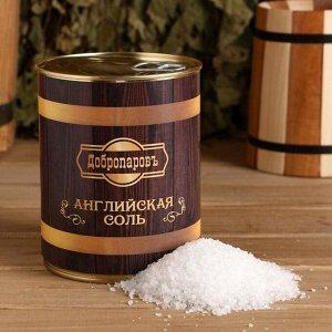 Английская соль для бани в банке 800г.