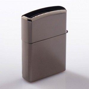 Зажигалка электронная, дуговая, USB, хром, 5.6х3.8.1.3 см .