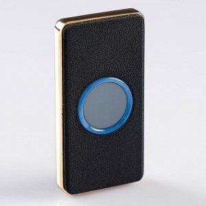 Зажигалка электронная в подарочной коробке, USB, спираль, круг с подсветкой, 3.5х7 см