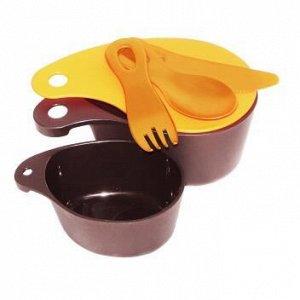 Набор посуды компактный, 6 предметов