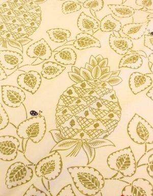 """Интерьерный хлопок """"Тропический сад"""" цв.светлый хаки, ш.1,5 м, хл-100%, 240 гр/м.кв"""